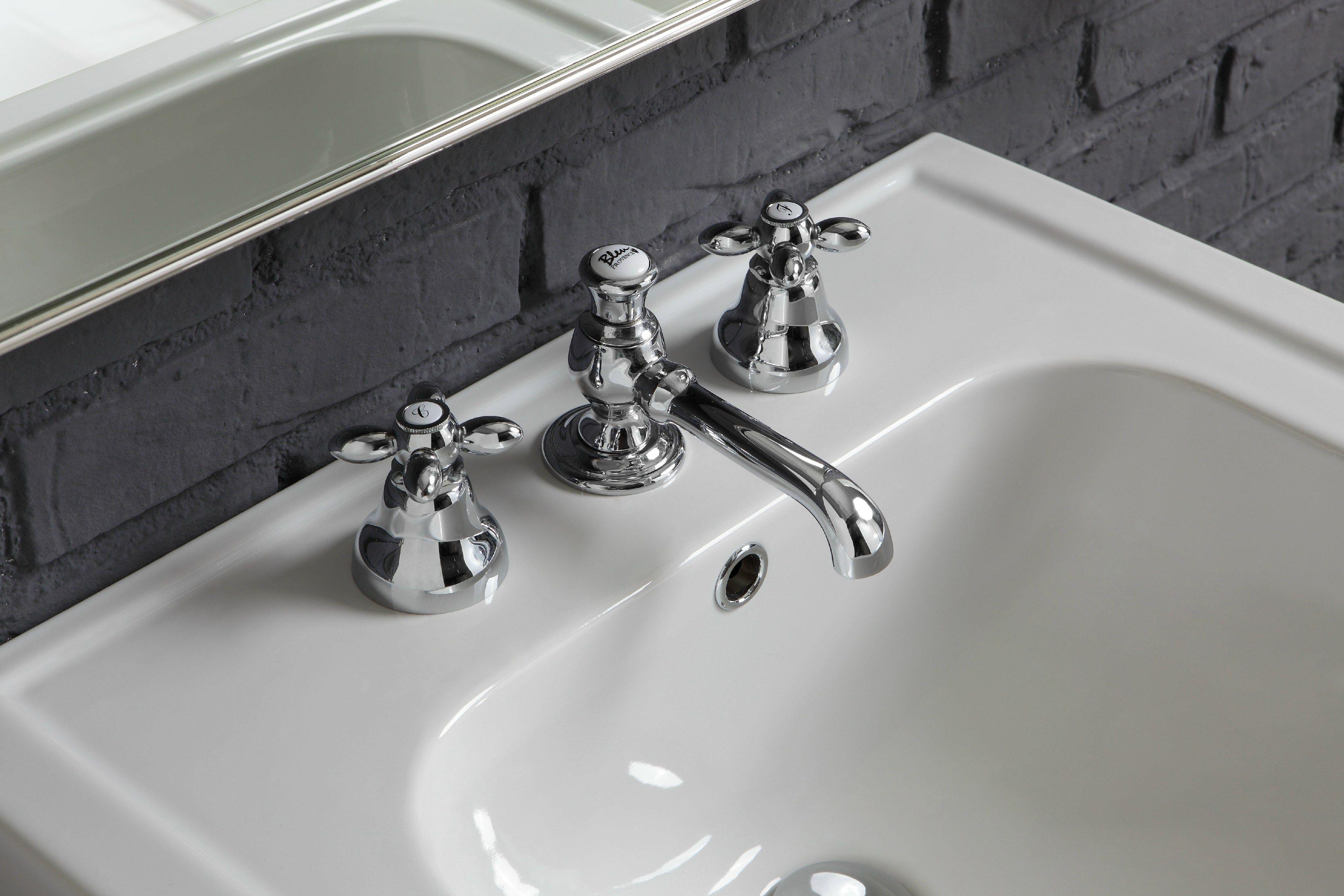 lavabo console rectangulaire en c ramique 960 collection provence 39 900 by bleu provence. Black Bedroom Furniture Sets. Home Design Ideas