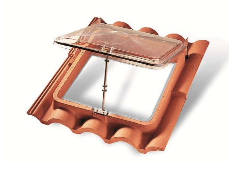 Ventana de techo lucernario by monier for Finestra lucernario