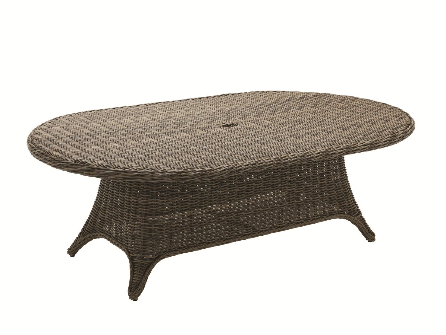 Havana table de jardin ovale by gloster design povl eskildsen for Table de jardin ovale