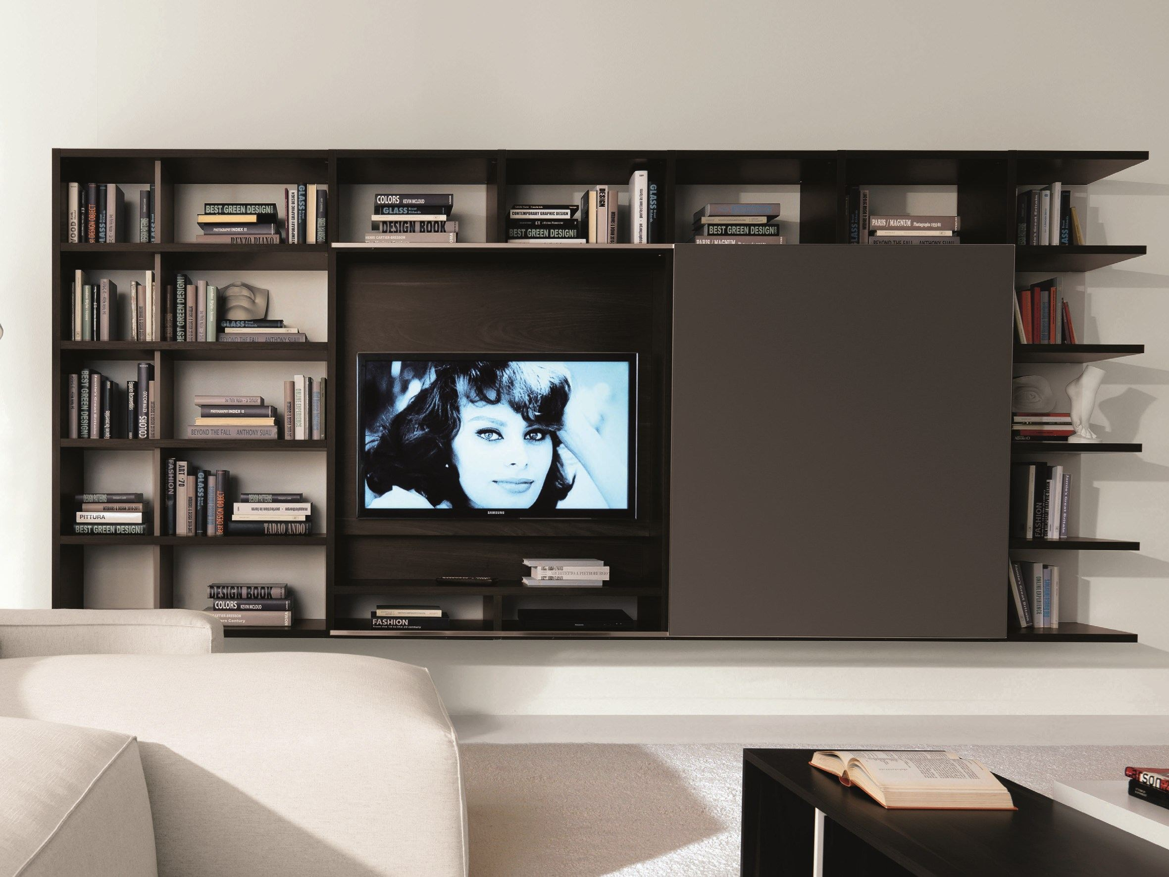 link system mueble modular de pared by zalf