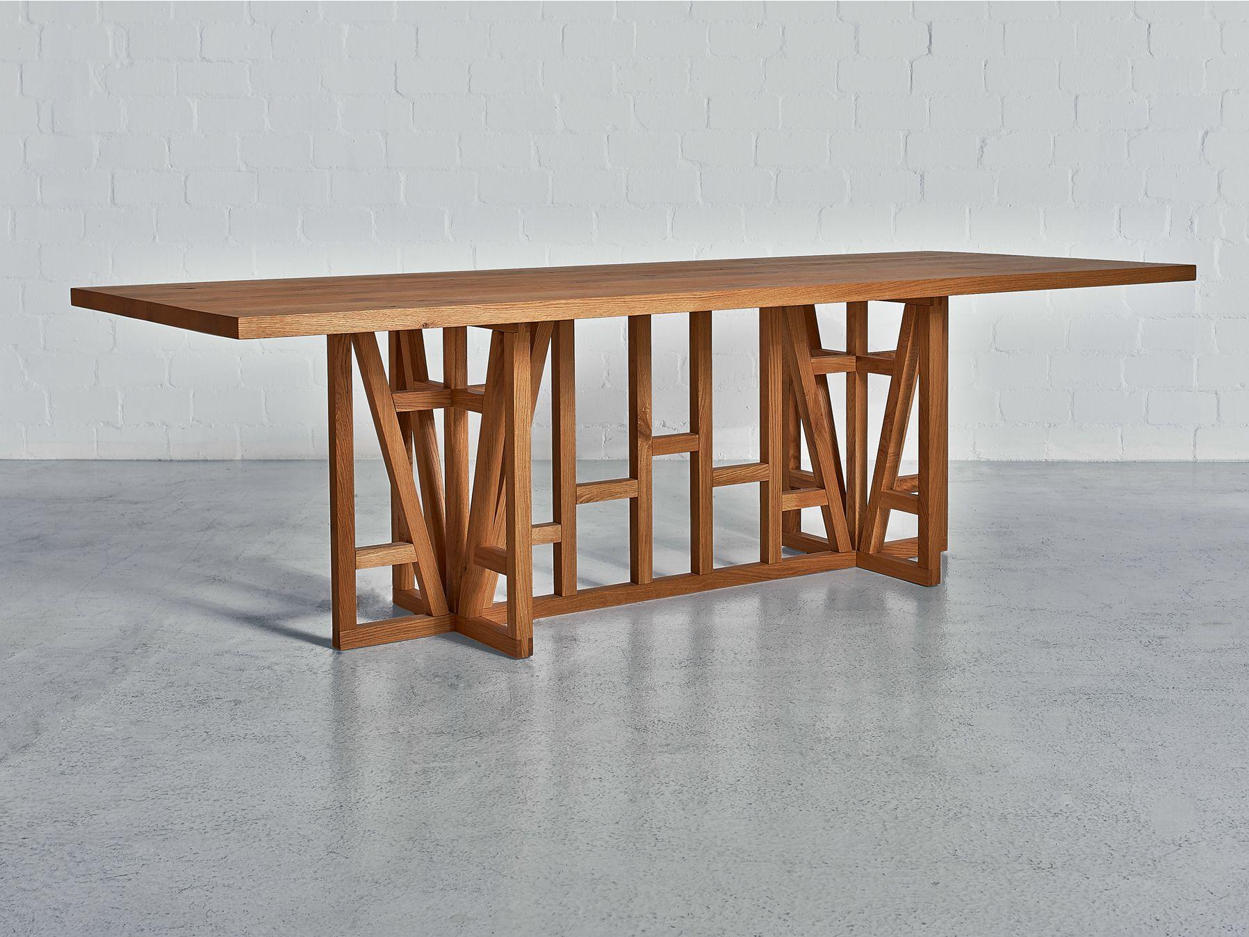 Fachwerk rectangular table by vitamin design design gg for 3d fachwerk