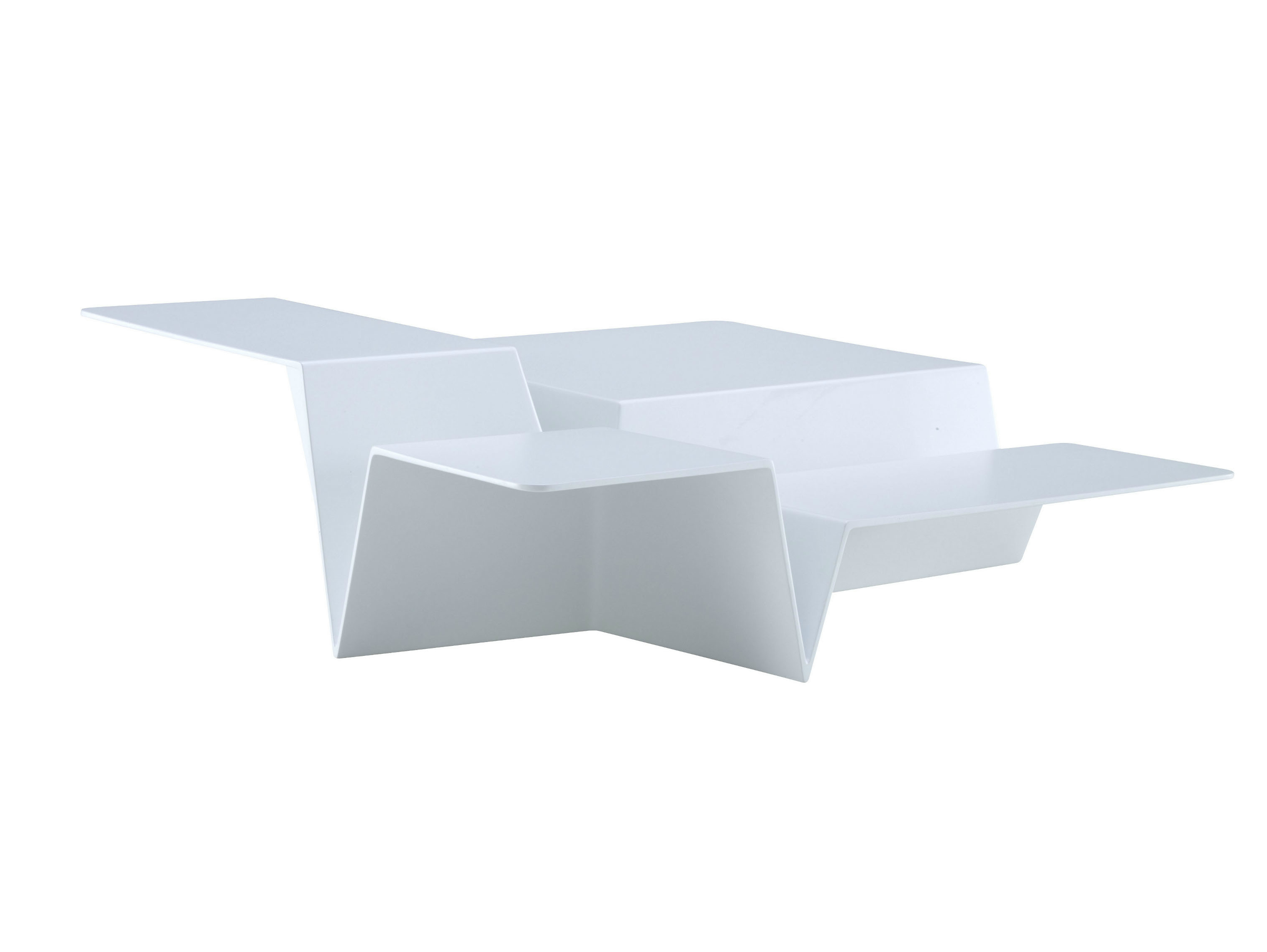Low Square Coffee Table CUTS By Ligne Roset Design Philippe Nigro