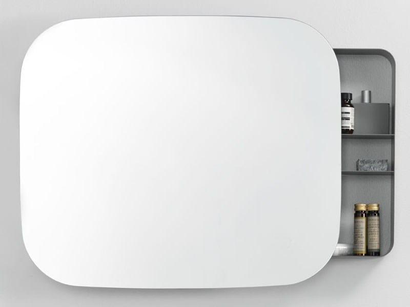 specchio con contenitore per bagno ray mirror by ext design michael hilgers