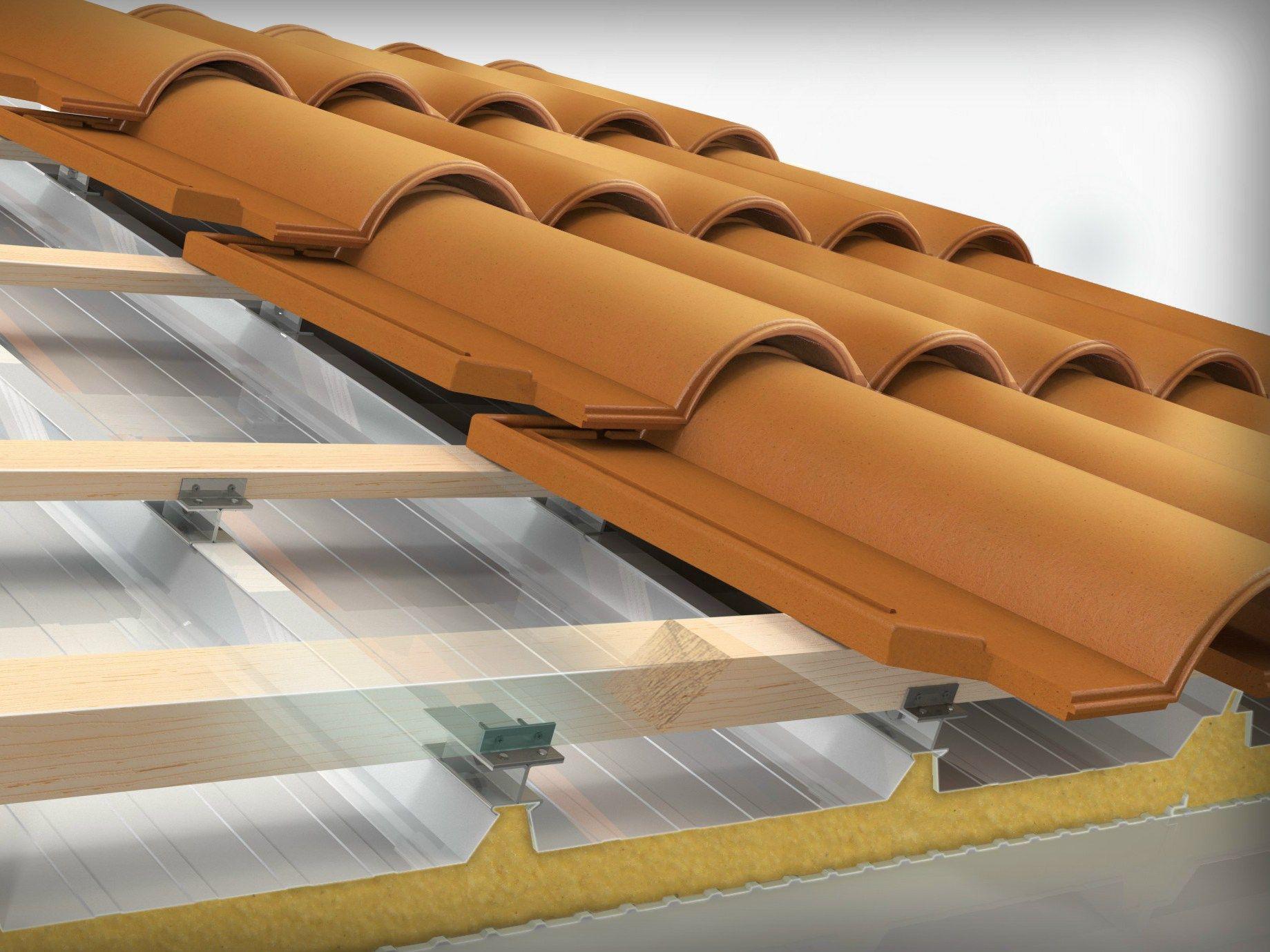 Dryfix sistema per tetto ventilato by sitav costruzioni - Pannelli isolanti per sottotetto ...