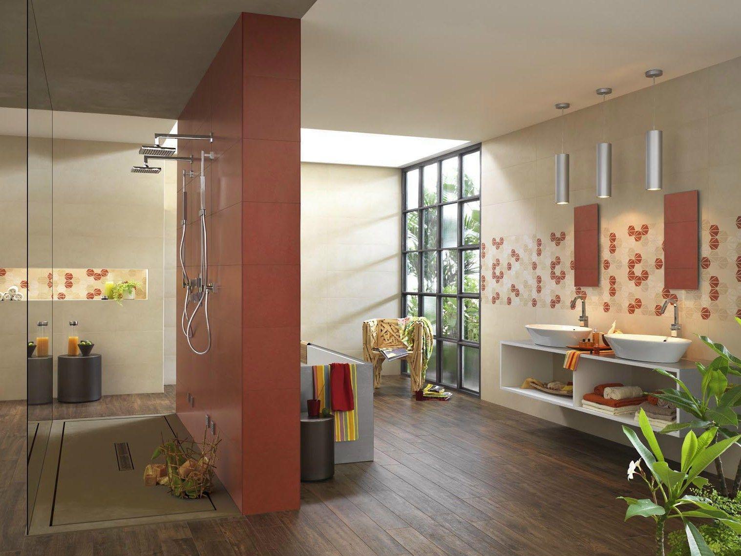 Revestimiento de pared en pasta blanca para interiores oficina7 by marazzi - Catalogo piastrelle marazzi ...