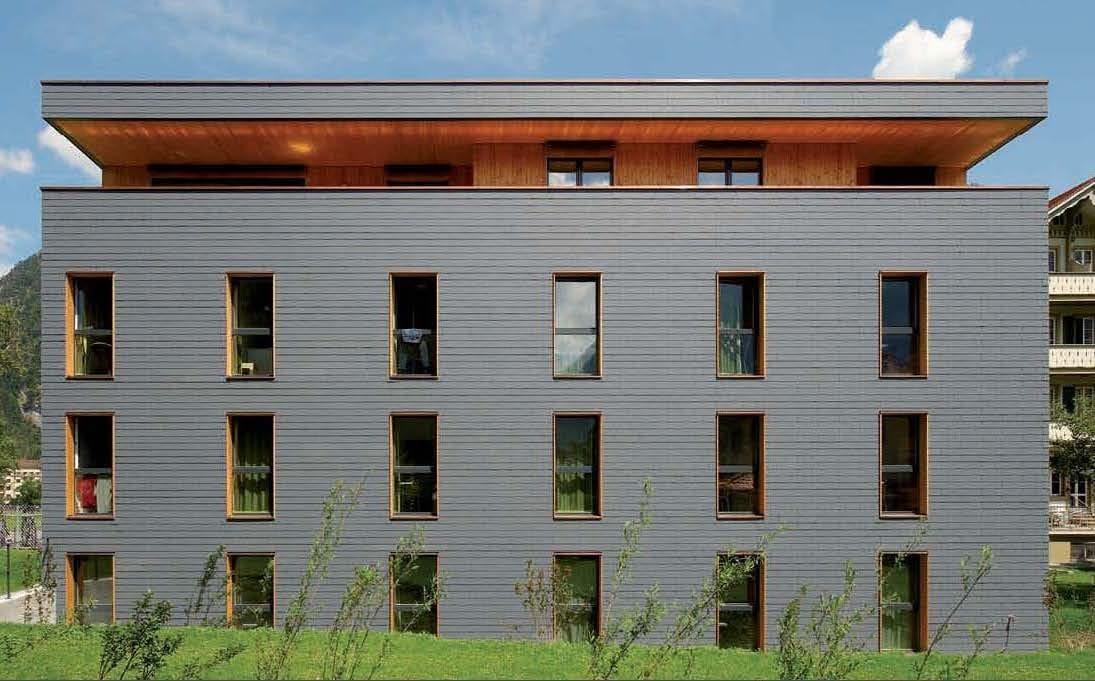 Fibro ciment facade