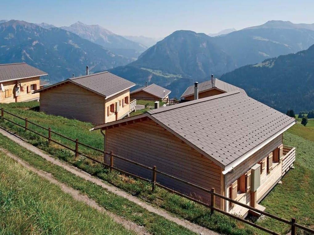 panneau et plaque de couverture en fibrociment ardoise de toiture by swisspearl italia. Black Bedroom Furniture Sets. Home Design Ideas
