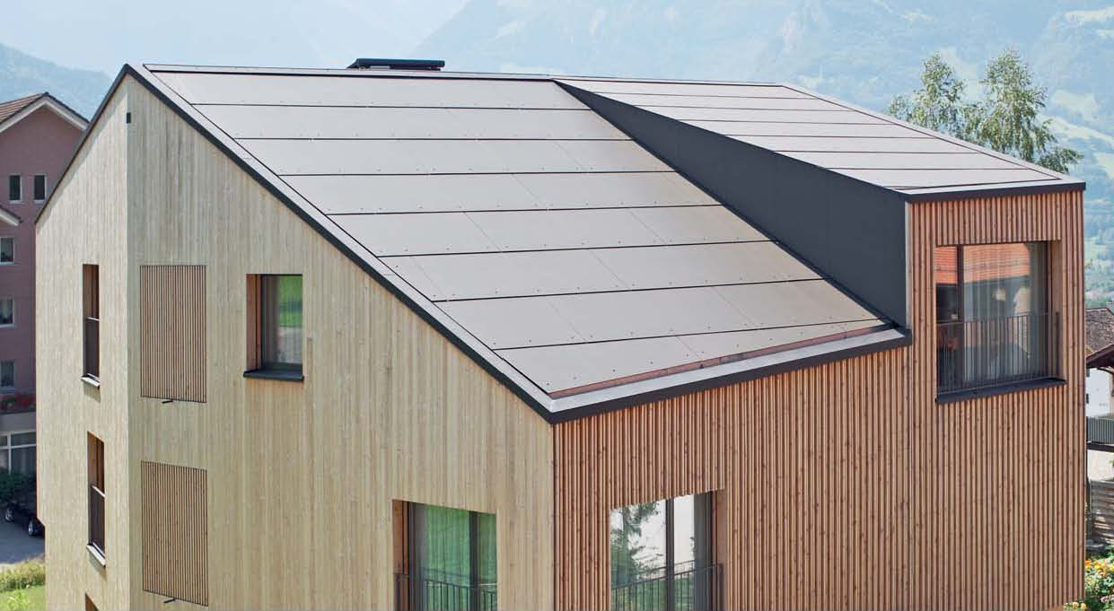 Roofing Panel And Sheet In Fibre Cement Integral Plan By