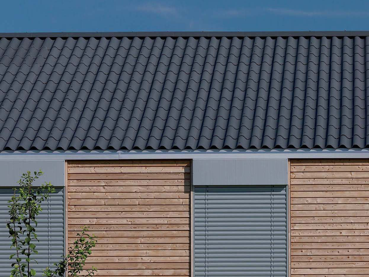 Roofing Panel And Sheet In Fibre Cement Structa Classica
