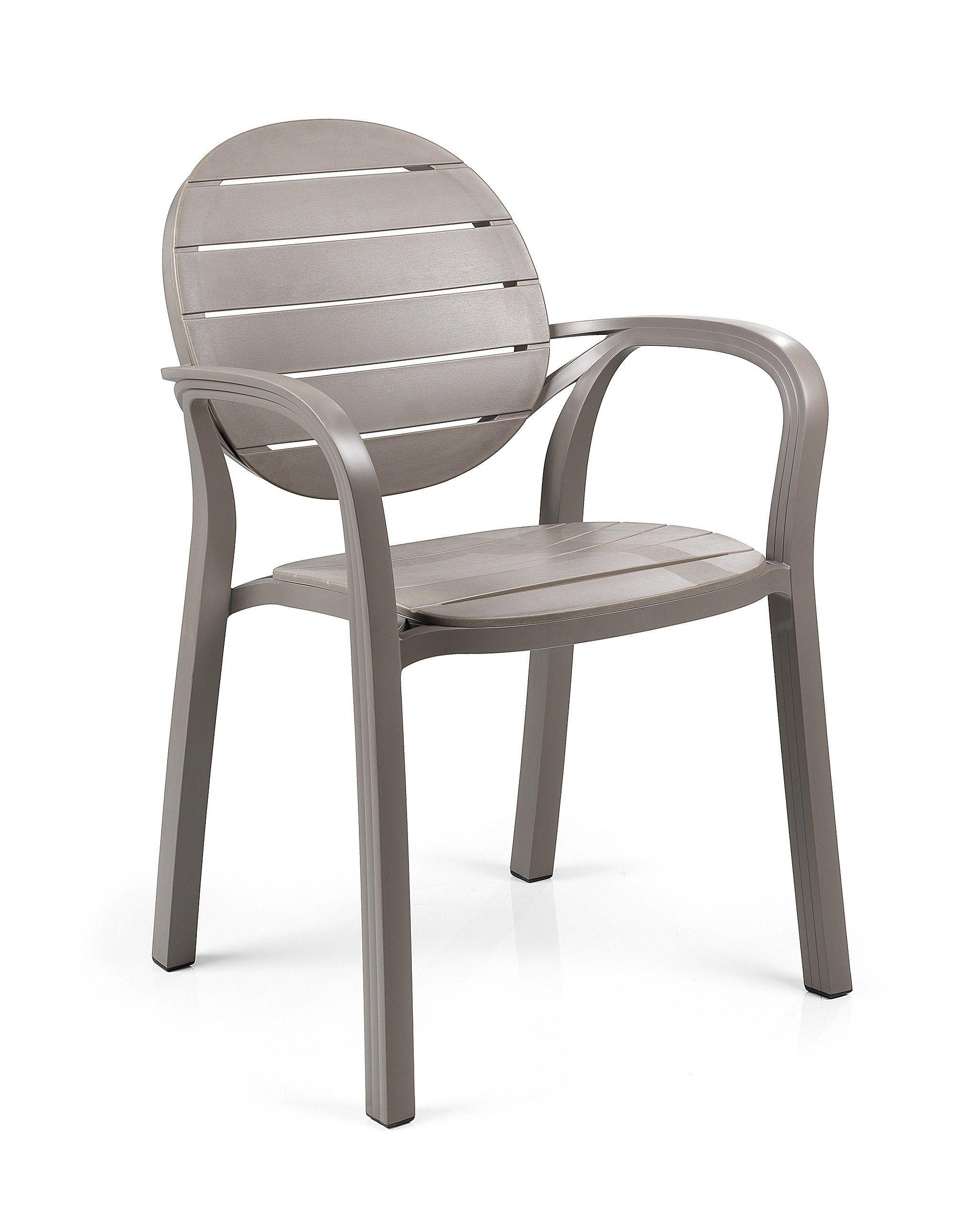 chaise de jardin empilable en polypropyl ne de style. Black Bedroom Furniture Sets. Home Design Ideas