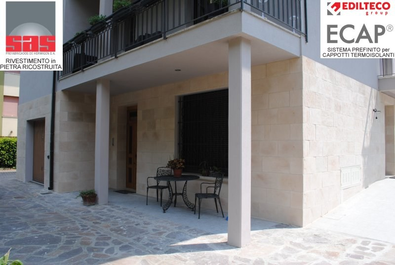 Revestimiento de fachada piedra artificial by sas italia - Revestimiento fachadas piedra ...