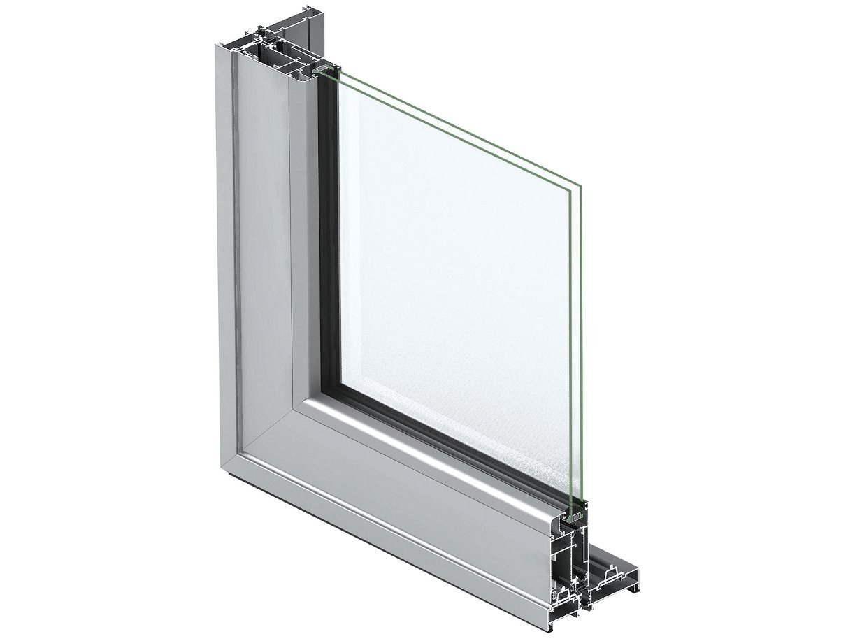 Aluminium thermal break window eku tt as by profilati for Thermal windows