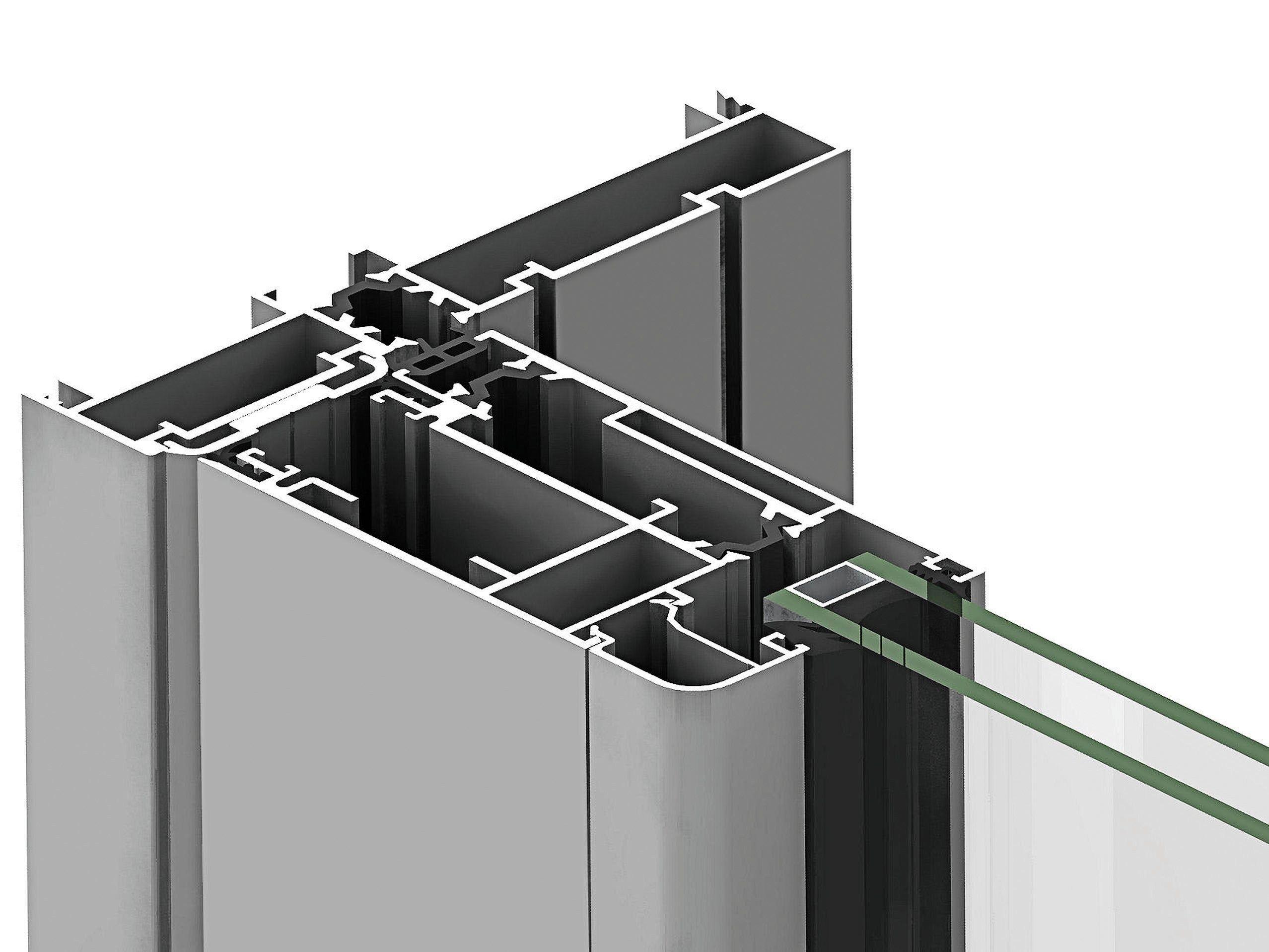 Aluminium thermal break window eku tt as by profilati for Thermal windows prices