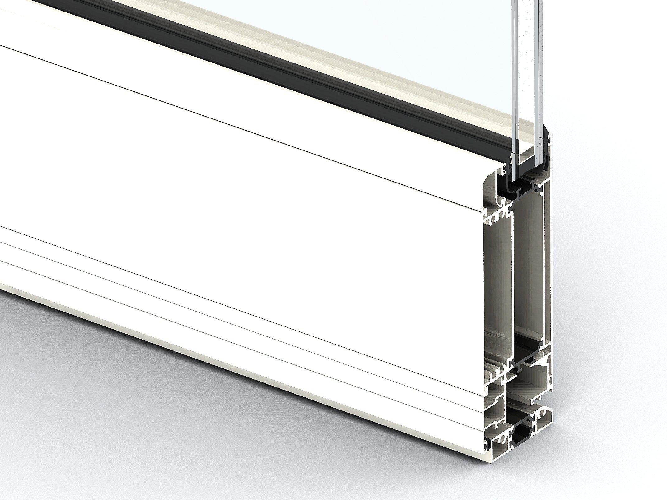 fenster aus aluminium eku 66 tt by profilati. Black Bedroom Furniture Sets. Home Design Ideas
