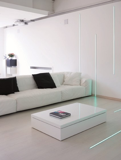 Table basse r glable en hauteur flat by ozzio design - Table basse reglable en hauteur ...