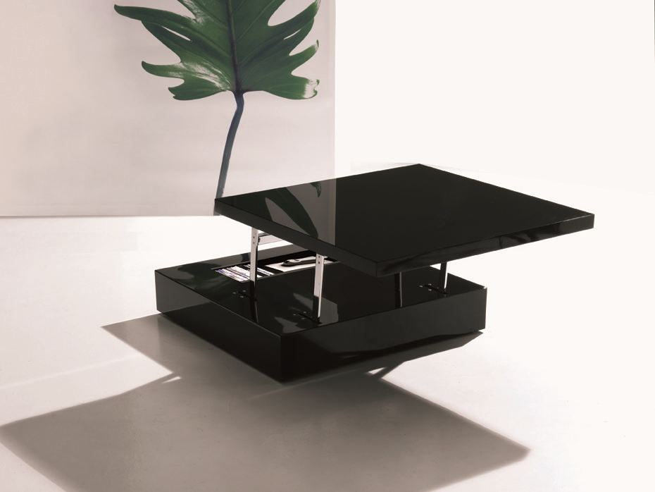 table basse r glable en hauteur flat by ozzio design design studio ozeta. Black Bedroom Furniture Sets. Home Design Ideas