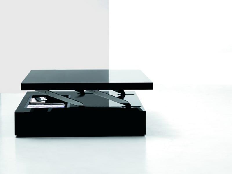 Höhenverstellbarer Couchtisch FLAT by Ozzio Italia Design