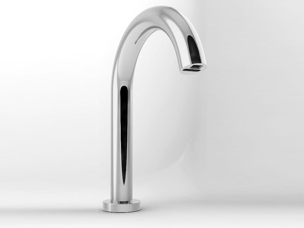 elektronische waschtischarmatur abdeckung ablauf dusche. Black Bedroom Furniture Sets. Home Design Ideas