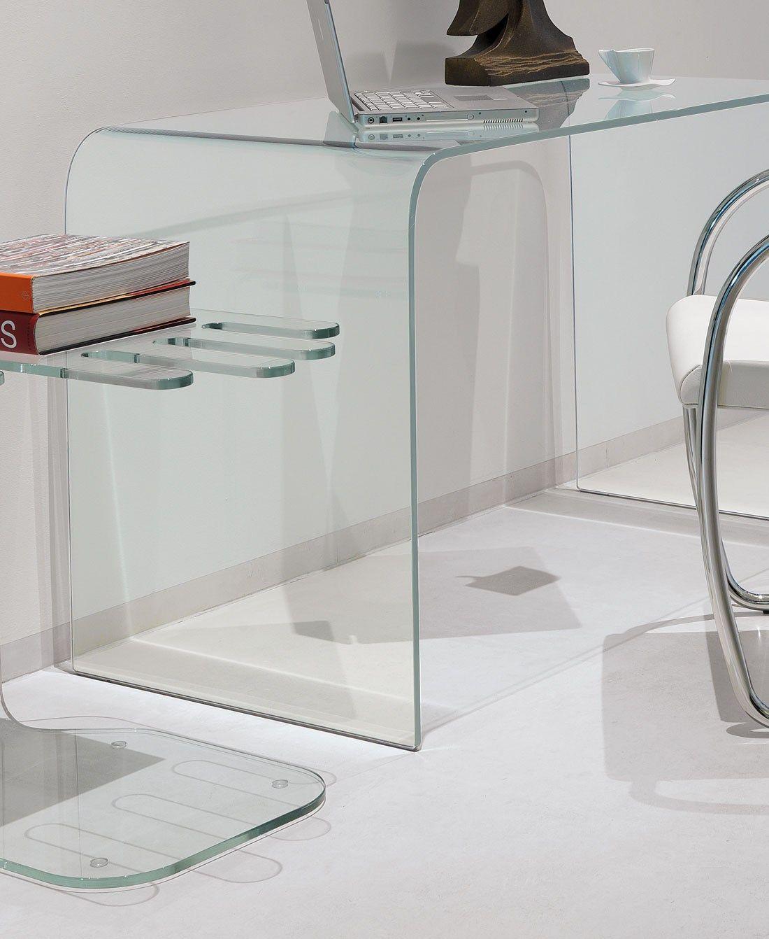 Scrivania In Vetro Design ACCADEMIA By ITALY DREAM DESIGN Kallisté #73412E 1100 1342 Scrivanie E Tavoli Ikea