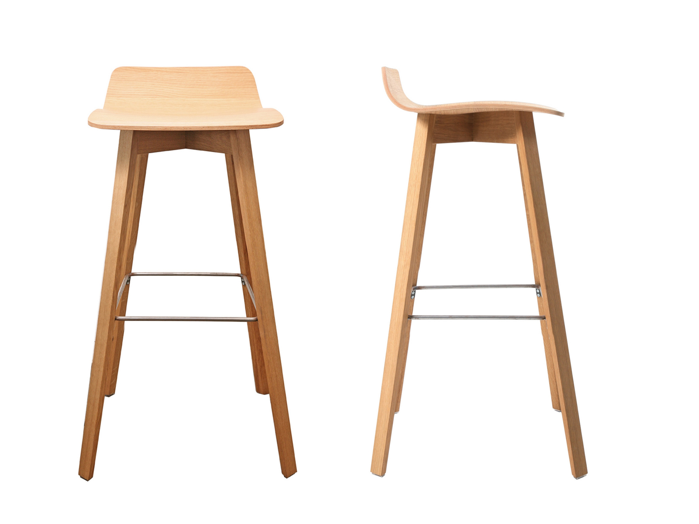 maverick multi layer wood stool by kff design birgit hoffmann