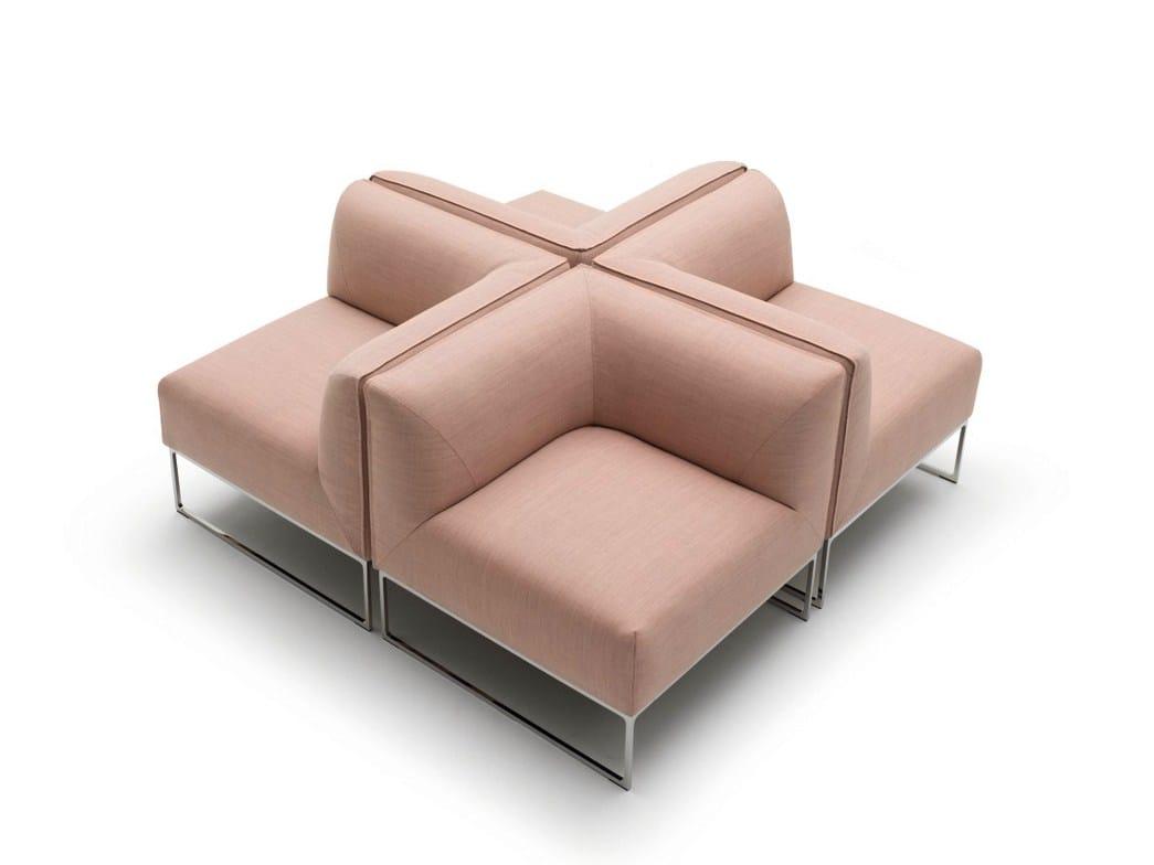 mell sectional sofa by cor sitzm bel helmut l bke design jehs laub. Black Bedroom Furniture Sets. Home Design Ideas