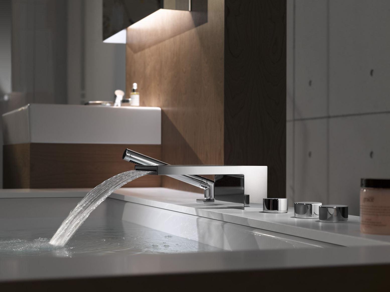 Deque chromierte badewannenarmatur by dornbracht design sieger design