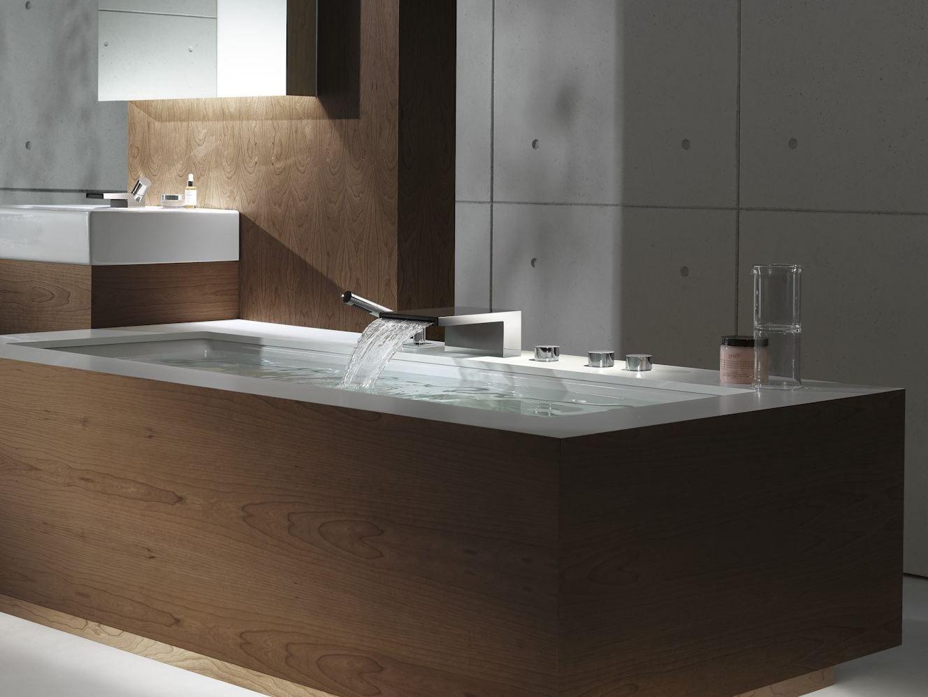 DEQUE   Chromierte Badewannenarmatur By Dornbracht Design Sieger ...   {Badewannenarmaturen 70}