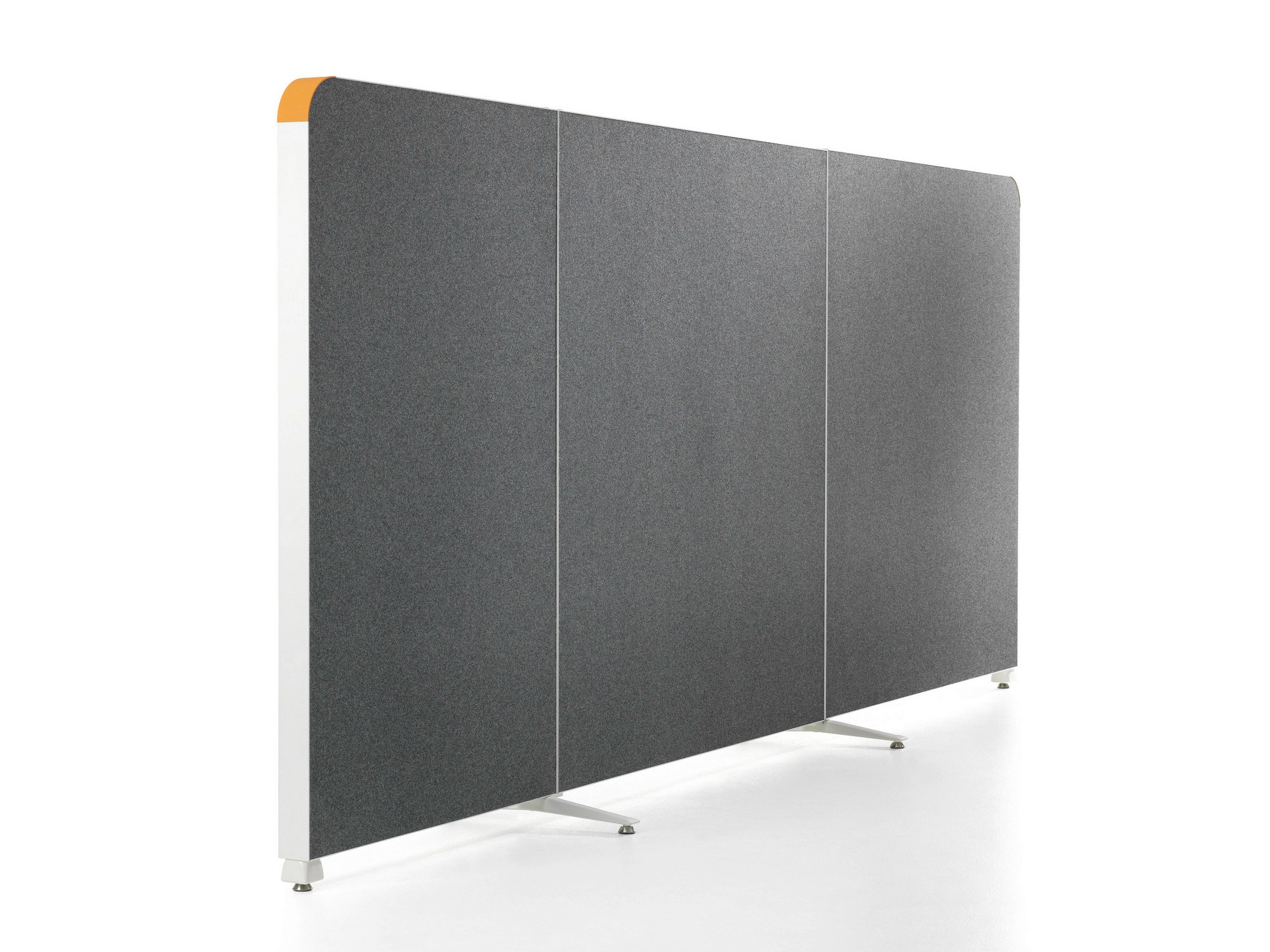 panneau s parateur insonorisant modulable alumi curves by abstracta design nina jobs. Black Bedroom Furniture Sets. Home Design Ideas