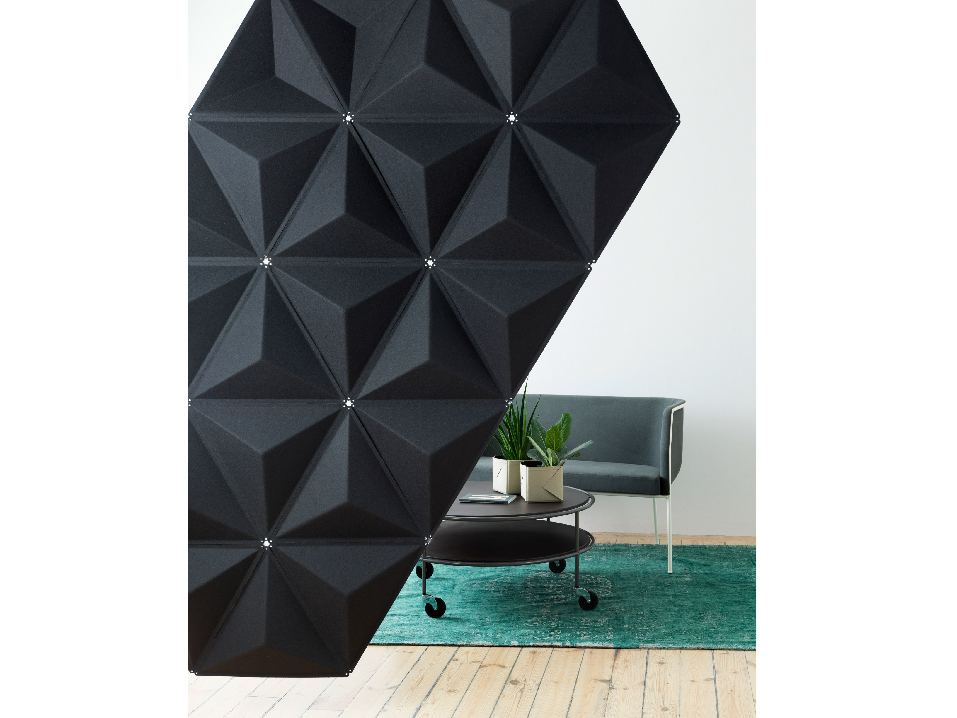 panneau s parateur insonorisant modulable aircone by. Black Bedroom Furniture Sets. Home Design Ideas