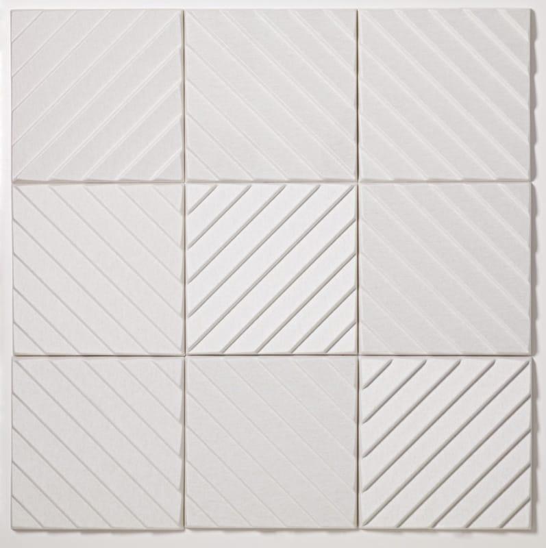 Polyester Fibre Decorative Acoustical Panels Stripes