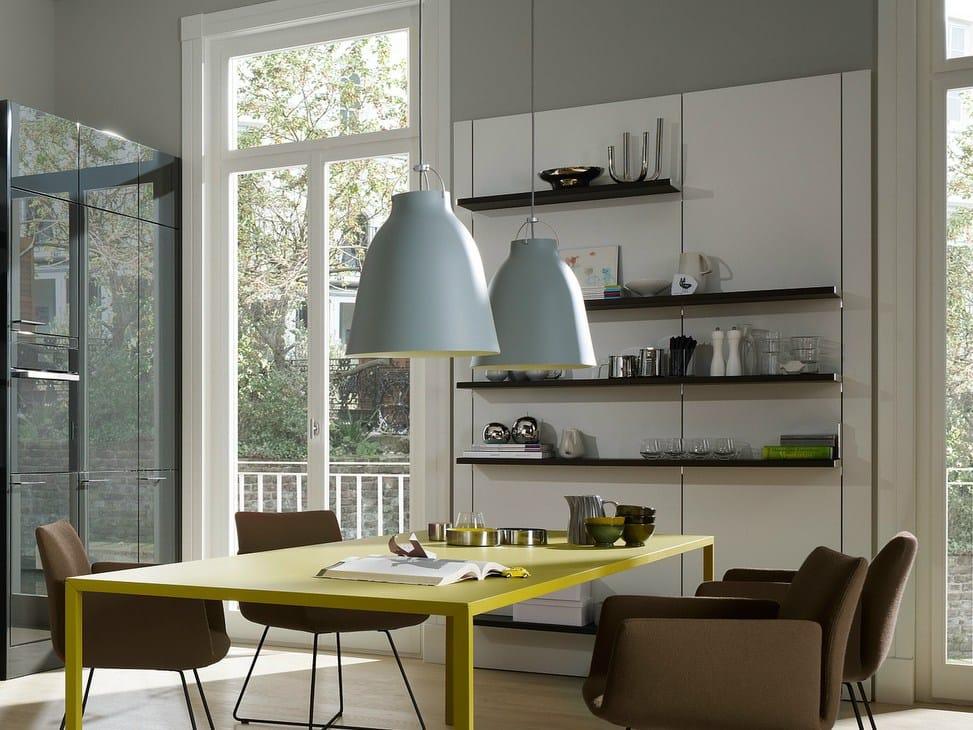 floating spaces se 4004 tag re murale en bois by siematic. Black Bedroom Furniture Sets. Home Design Ideas