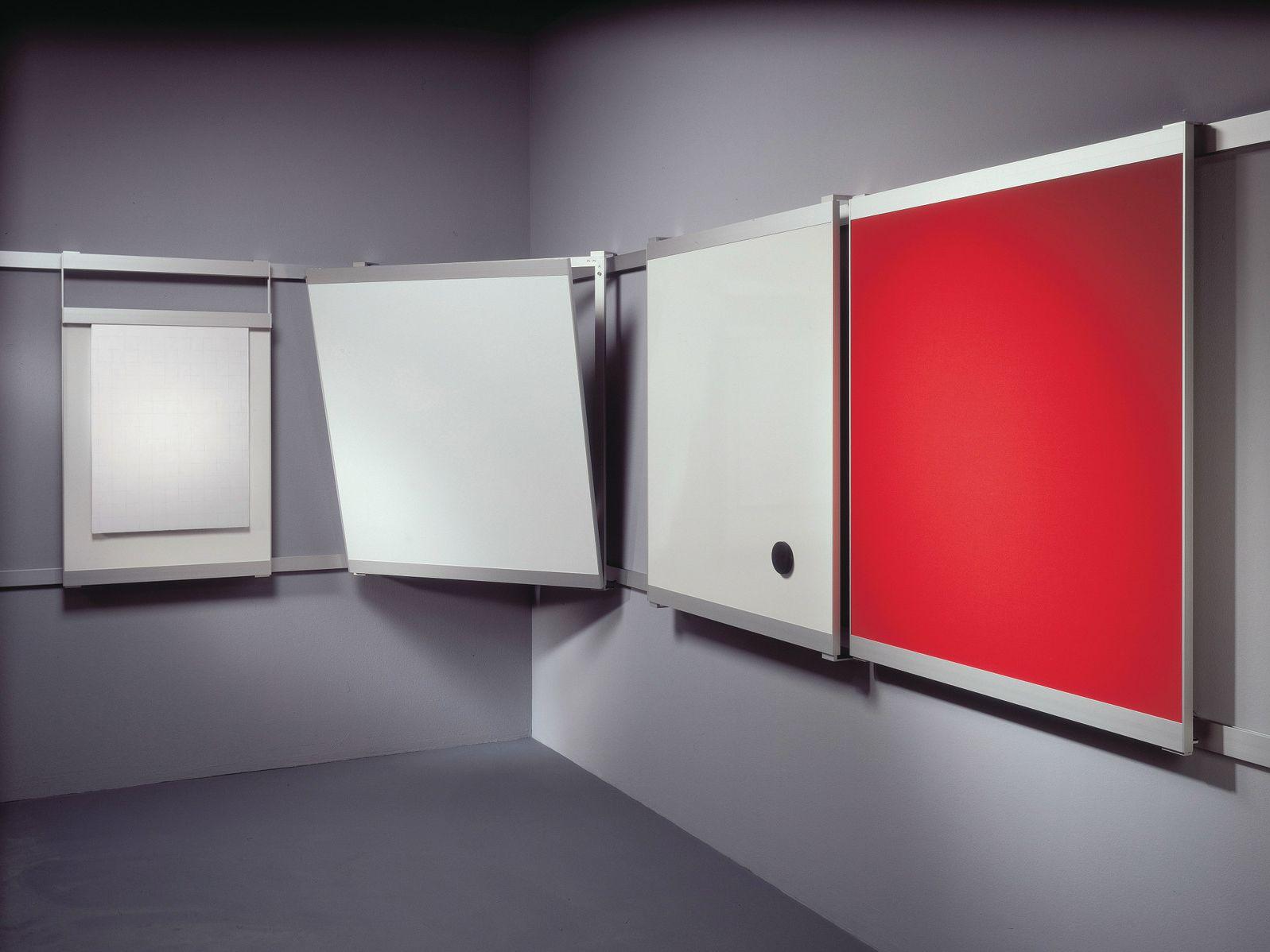 Lavagna per ufficio scorrevole a parete vip by abstracta design ...