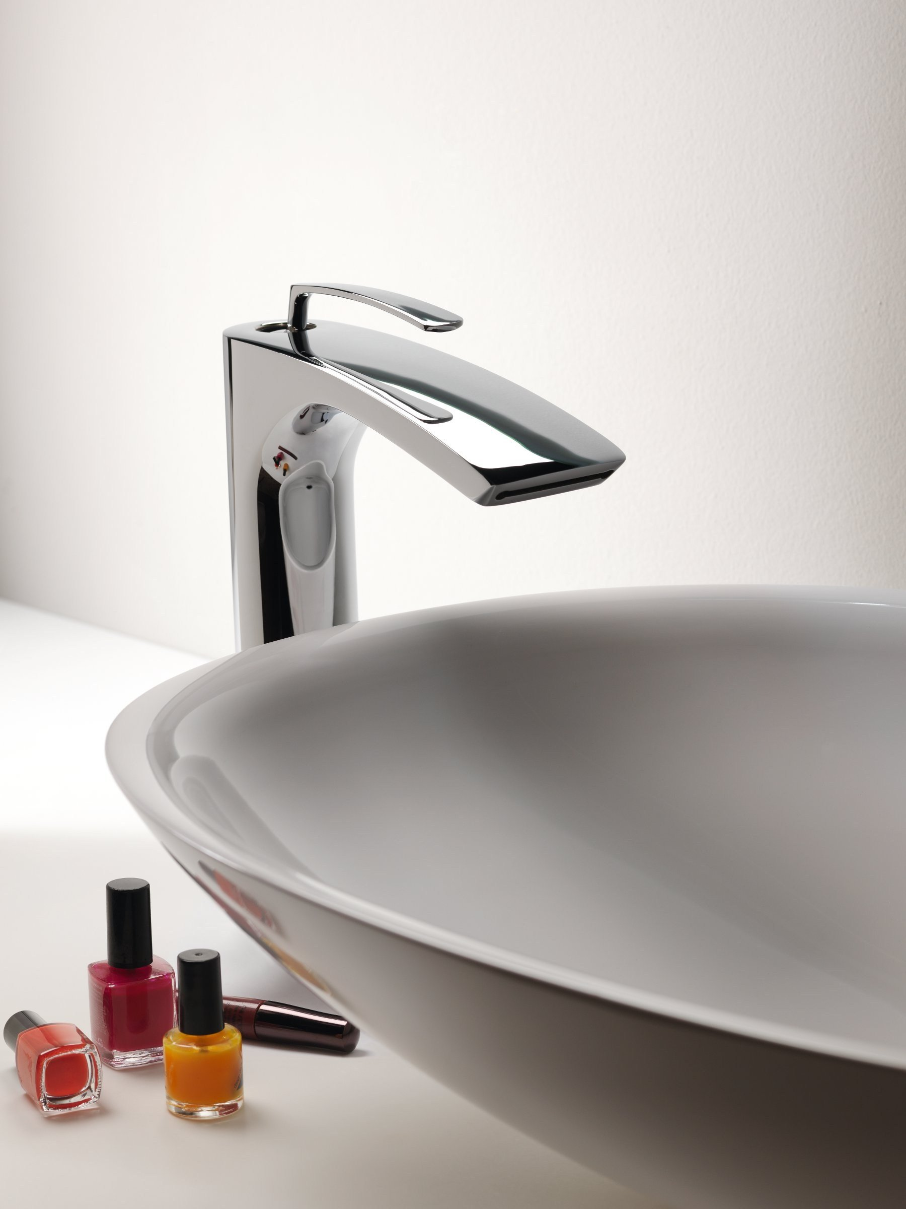 Miscelatore per lavabo cromo bollicine by cristina for Miscelatore lavabo