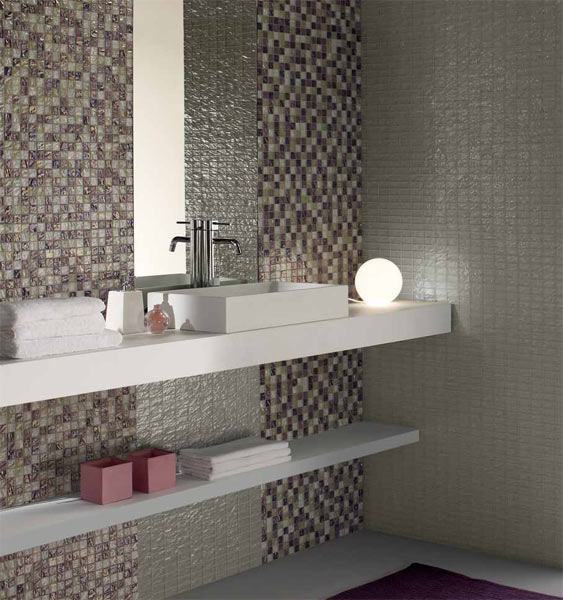 mosaiken wandverkleidung aus glas onde by mosaico. Black Bedroom Furniture Sets. Home Design Ideas