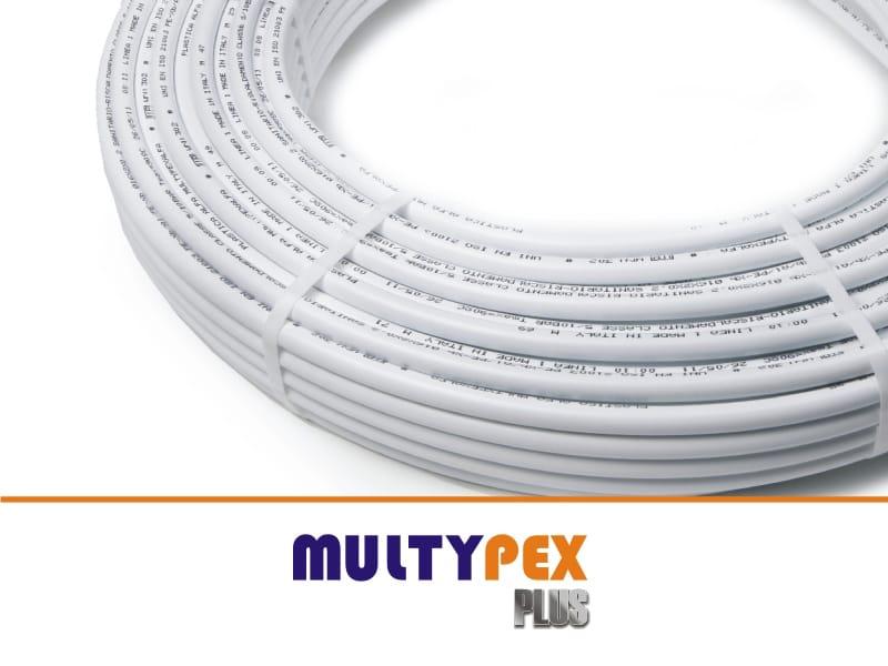 Tubo multistrato in pex al pex multipexalfa plus by for Tubo di pex per acqua calda