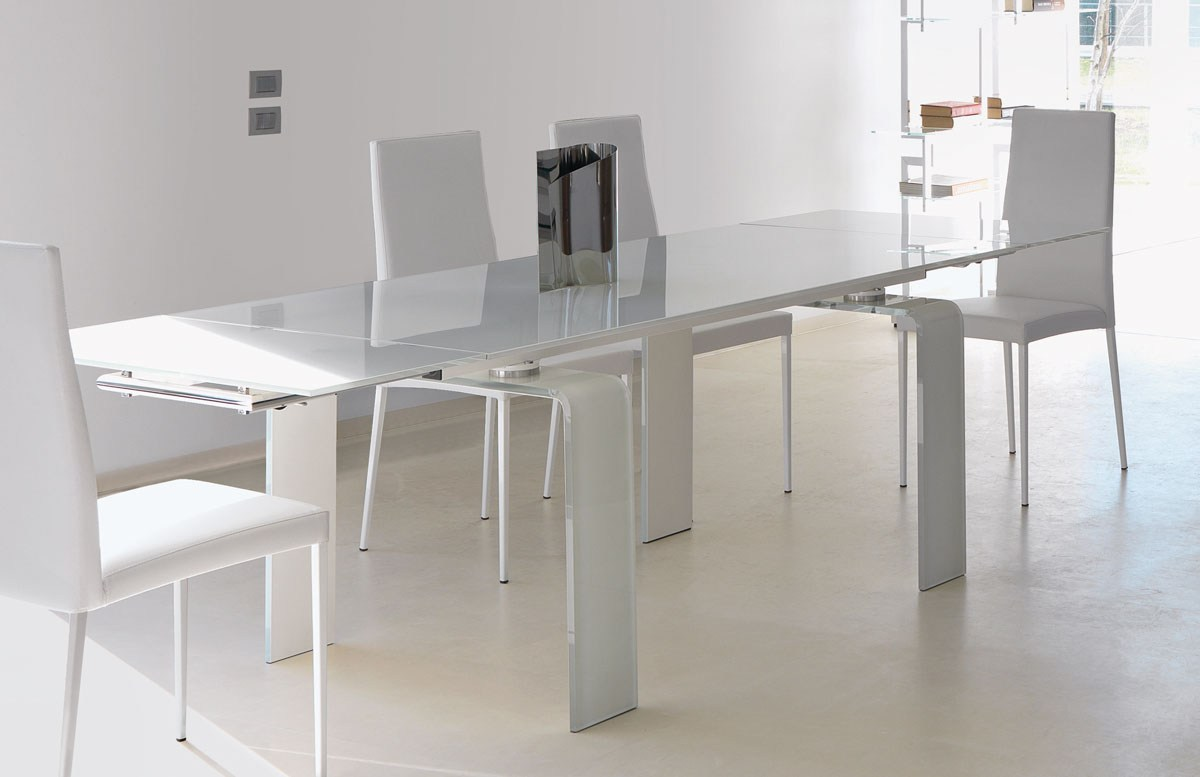 Table extensible design italien for Table extensible design