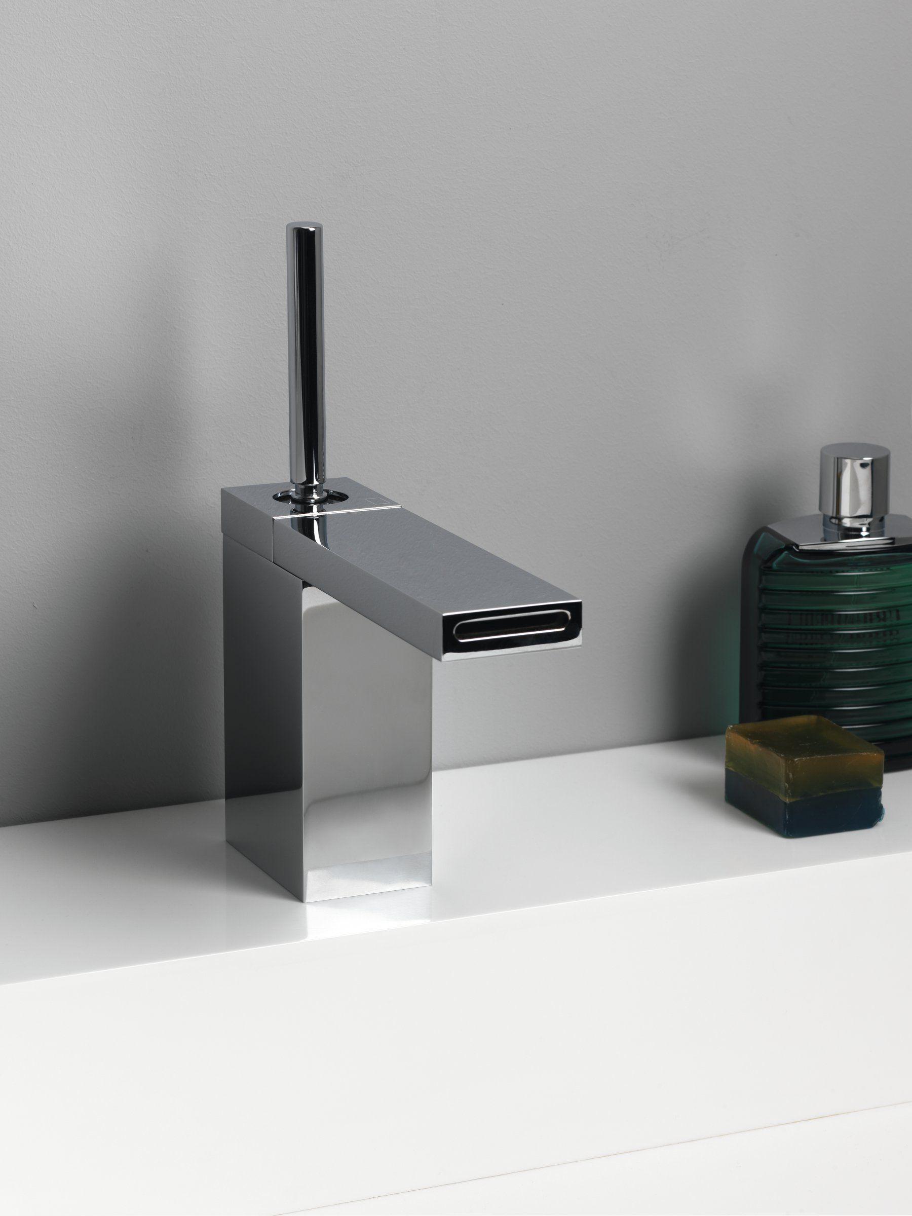 Miscelatore per lavabo monocomando monoforo modul by - Wilmotte design ...