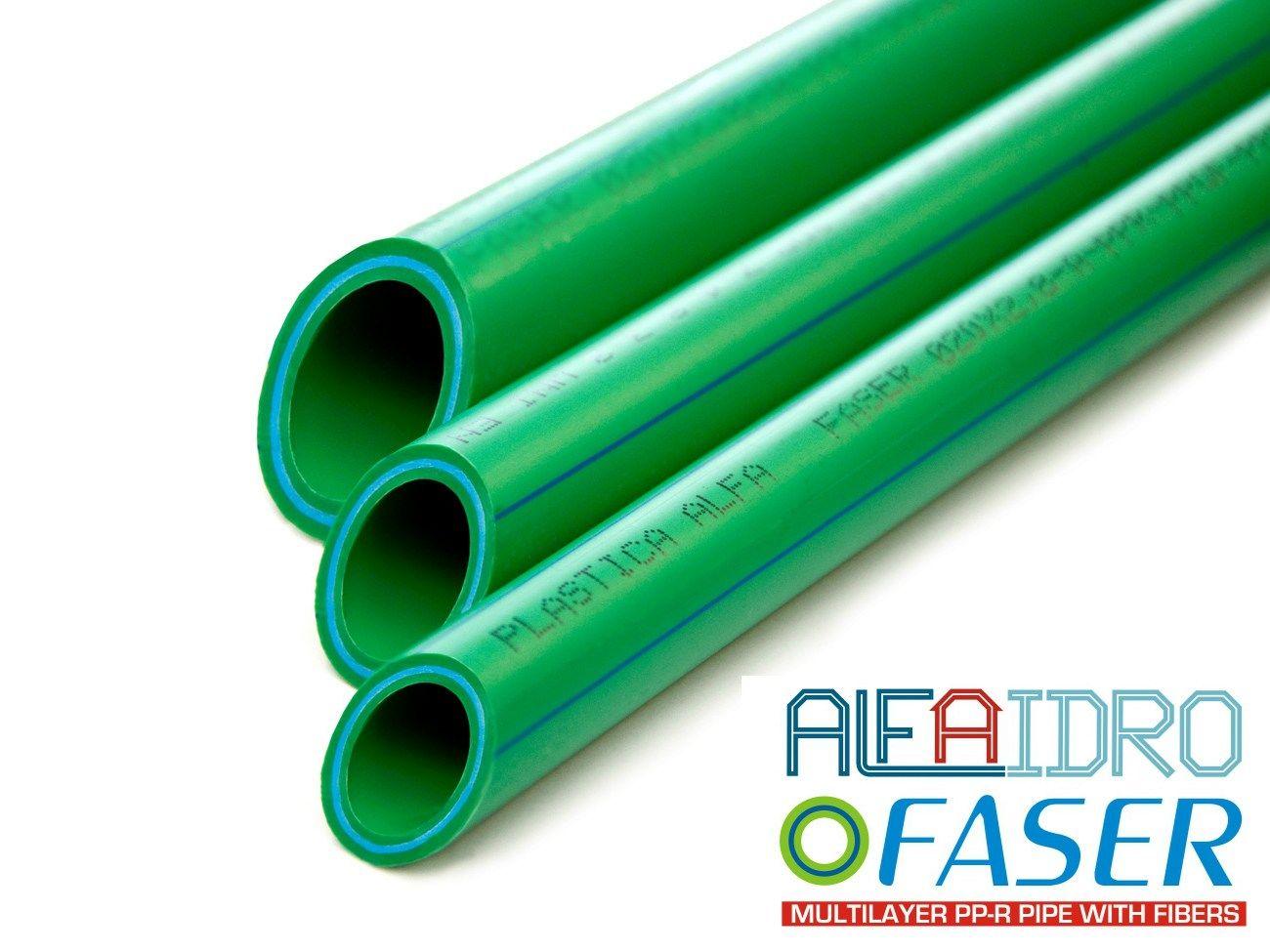 Tubi multistrato in ppr rinforzati con fibre speciali for Tipi di tubi di plastica