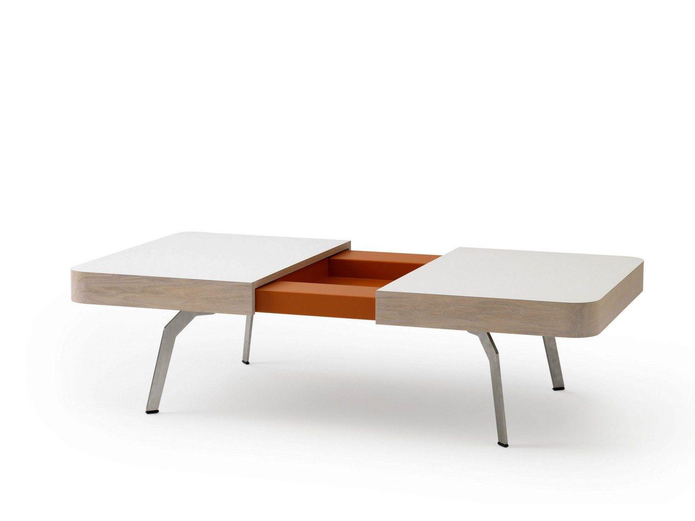 Extending Low Coffee Table Maita By Leolux Design Hugo De Ruiter