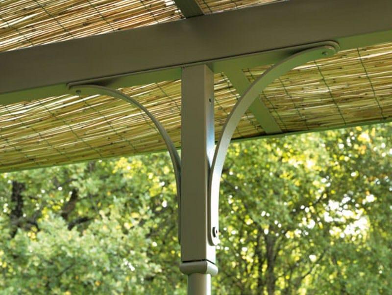 anbau terrassen berdachung aus eisen easy by ethimo. Black Bedroom Furniture Sets. Home Design Ideas