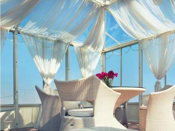 Giardino d 39 inverno in ferro e vetro giardino del re by cagis - Giardino d inverno permessi ...
