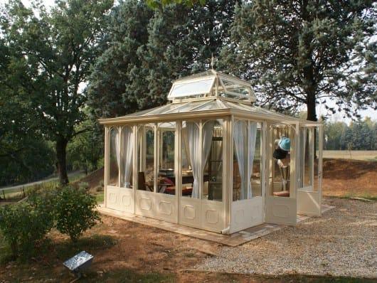 Giardino d'inverno in ferro e vetro giardino d' inverno by cagis