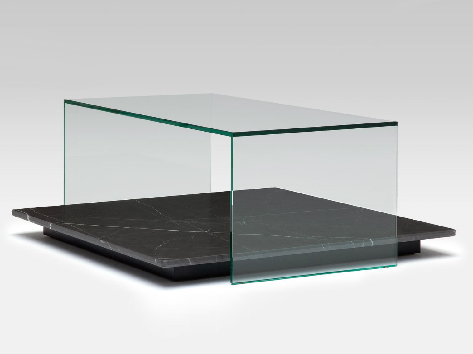 Low Glass Coffee Table Rolf Benz 970 By Rolf Benz Design Cuno Frommherz