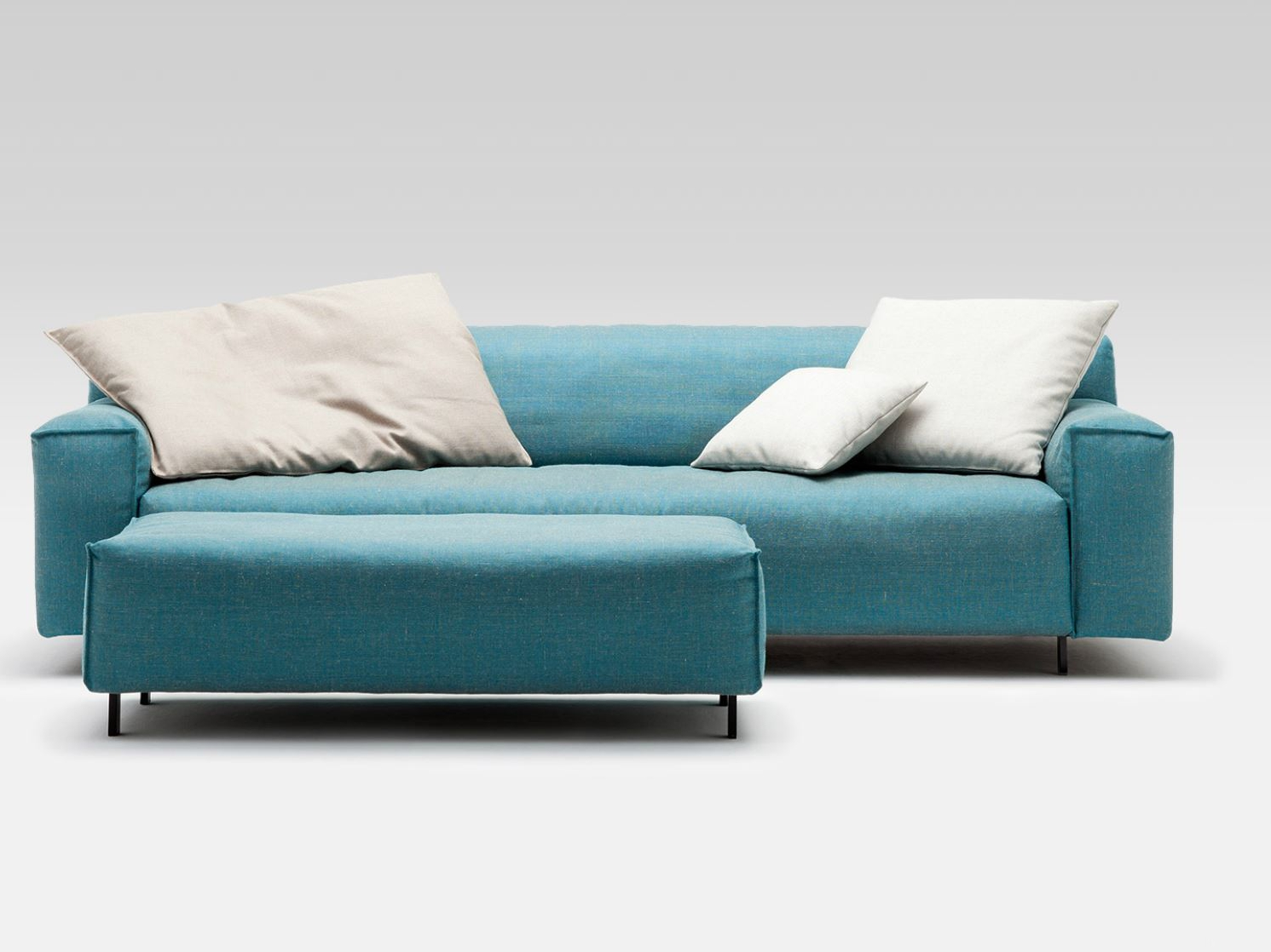 Fabric sofa GRATA by Rolf Benz design Christian Werner