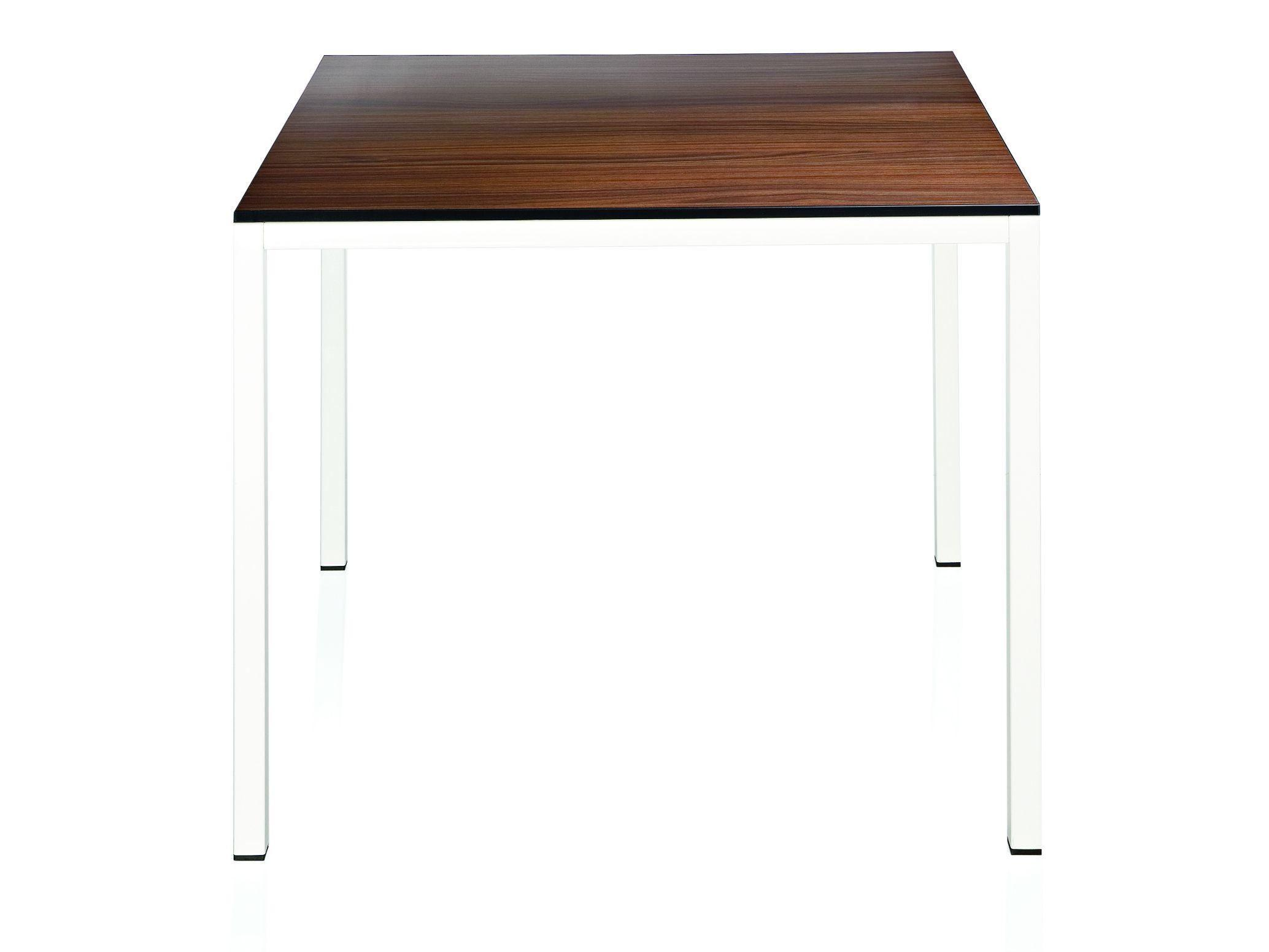 Quadratischer tisch aus laminat kollektion charlie by alma for Design stuhl charly