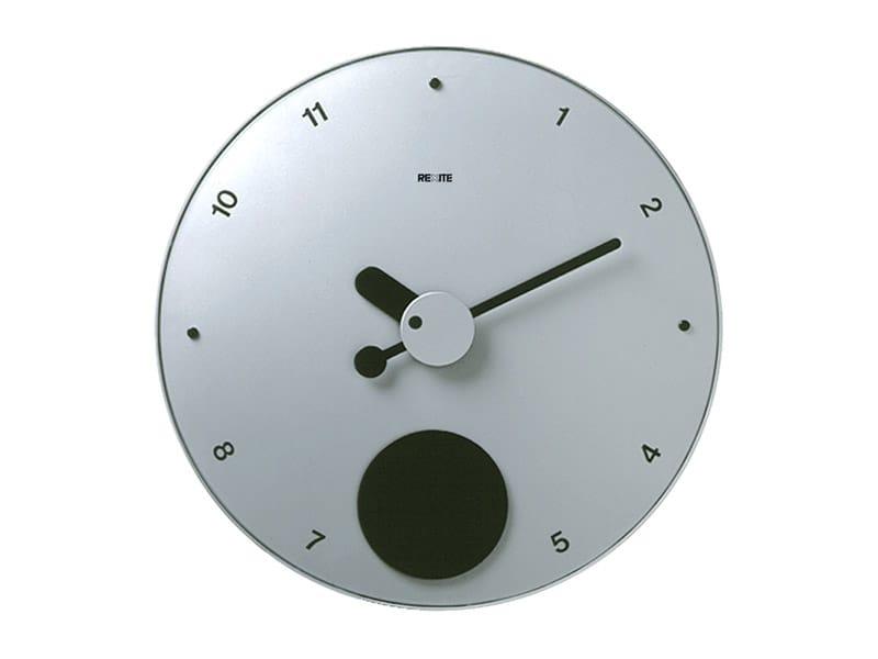 horloge pendule mural contrattempo by rexite design raul barbieri giorgio marianelli. Black Bedroom Furniture Sets. Home Design Ideas