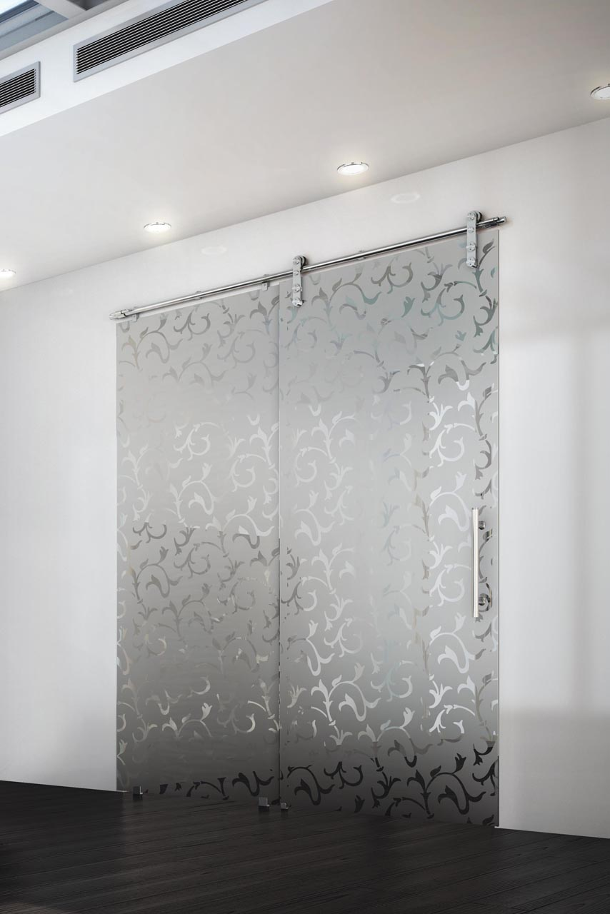 Porte coulissante castorama verre maison design for Castorama porte coulissante verre