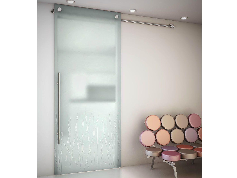 Puerta corrediza de vidrio glassercon todo en vidrio y for Puertas corredizas de vidrio