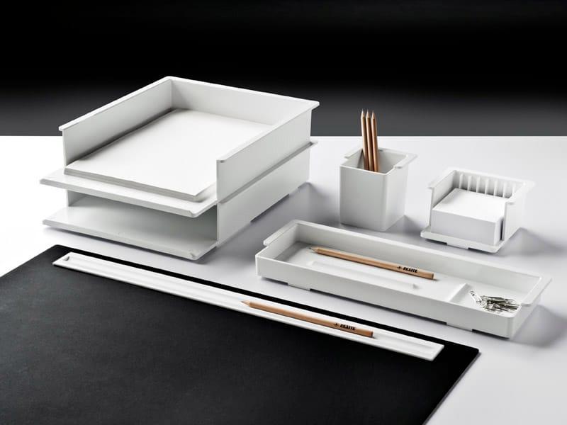 set da scrivania in tecnopolimero standard by rexite design julian ... - Set Da Scrivania Moderno
