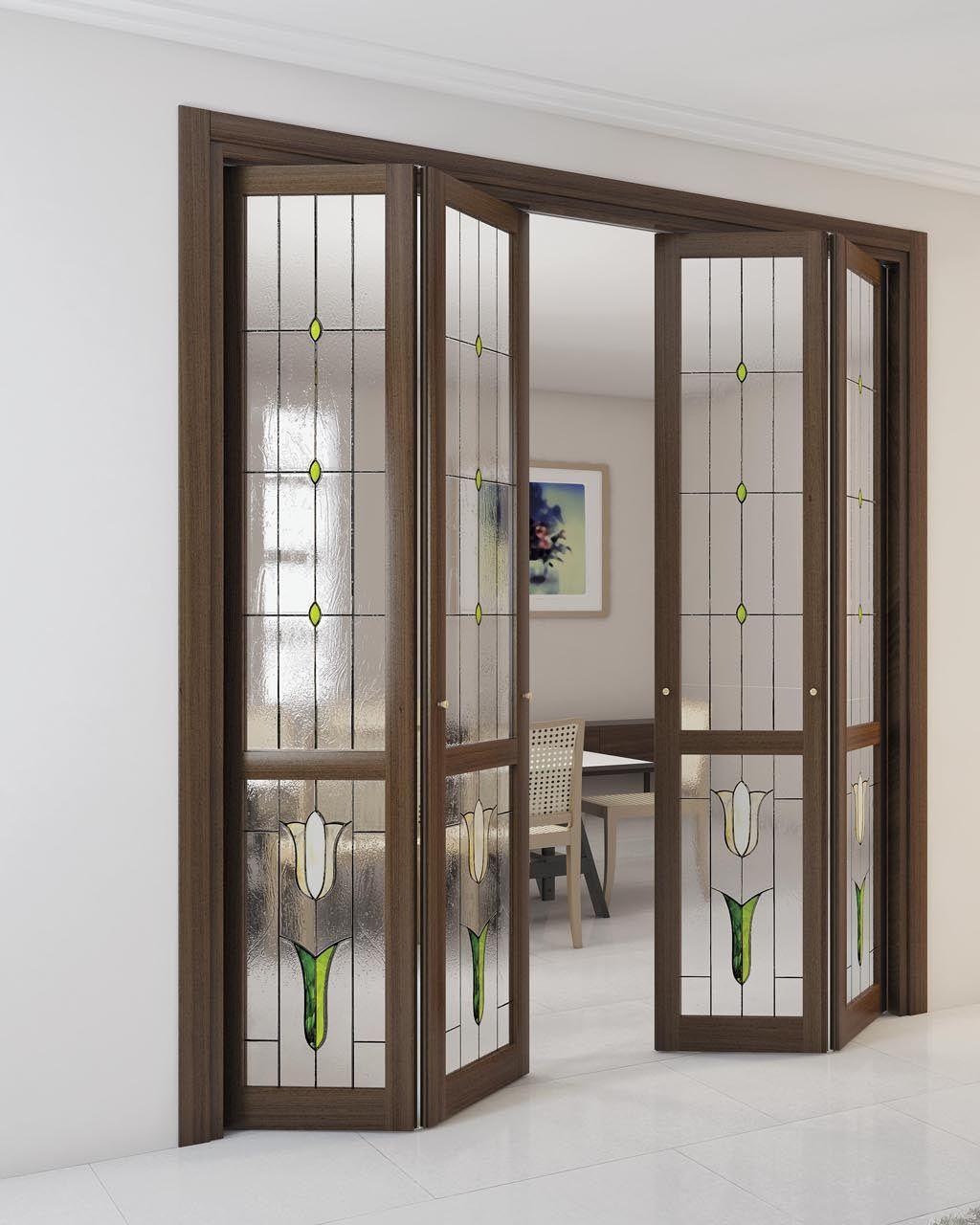Puerta plegable alessandra by foa for Precio de puertas plegables